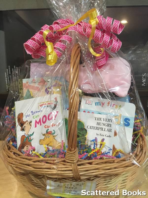 Custom Book Gift Baskets