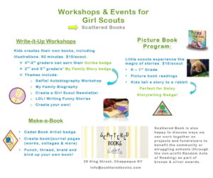 Girl Scout Program and Workshop Rates