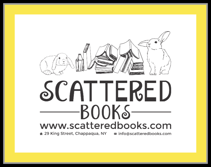 Scattered Books Book Store Logo