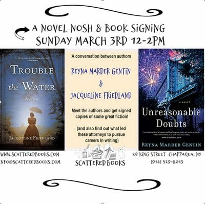 Author Book Signing - Unreasonable Doubts, Trouble the Water