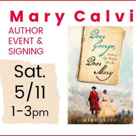 Mary Calvi Book Signing