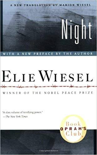 Night by Elie Weisel Book Cover for Review