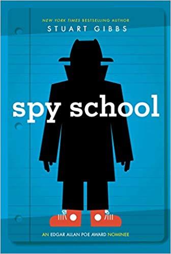 Spy School Stuart Gibbs Book Cover