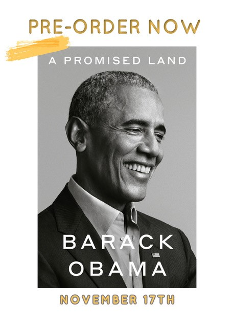 A Promised Land Book by Barak Obama