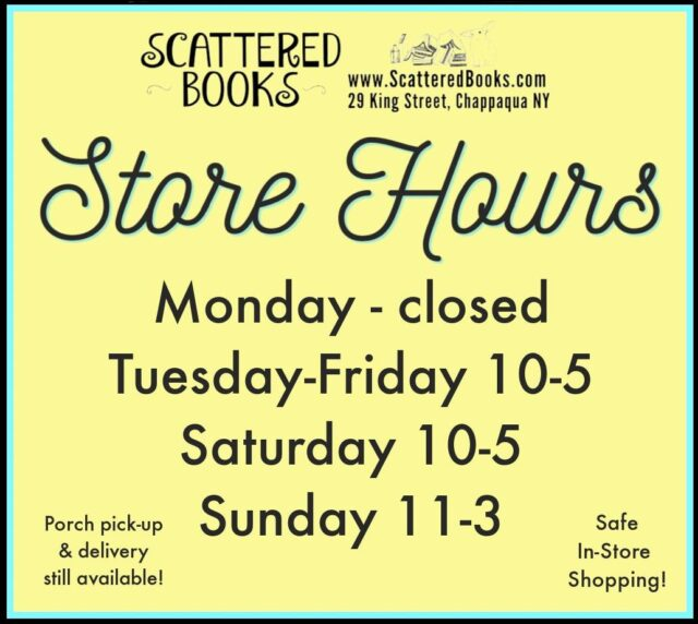 Scattered Books Store Hours