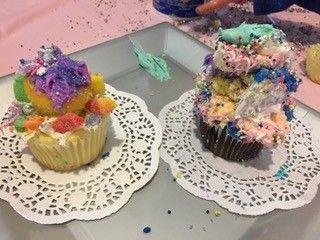 Fancy kids cupcake