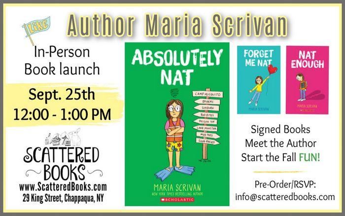 Author Maria Scrivan Book Signing
